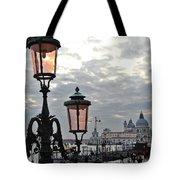 Lamp At Venice Tote Bag