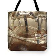 Lampada Di Cristallo Tote Bag