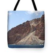 Lanais Coastline Cliffs Tote Bag