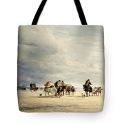 Lancaster Sands Tote Bag