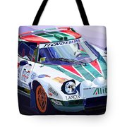 Lancia Stratos Alitalia Rally Catalonya Costa Brava 2008 Tote Bag by Yuriy  Shevchuk