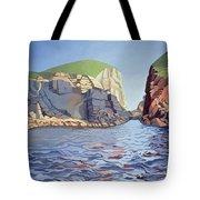 Land And Sea No I - Ramsey Island Tote Bag