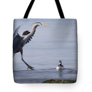 Landing With Brants Tote Bag
