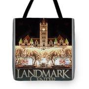 Landmark Center Winter Tote Bag
