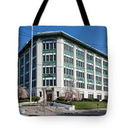 Landmark Life Savers Building I Tote Bag by Clarence Holmes
