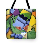 Landscape And Houses At Ceret Tote Bag