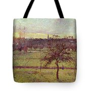 Landscape At Eragny Tote Bag
