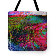 Landscape From Another World Tote Bag