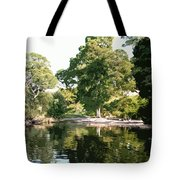 Landscape Tree Reflections Tote Bag