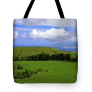 Landscape With Crater Tote Bag
