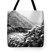 Landscape With Hydrangeas Tote Bag