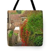 Lane And Ivy In St Cirq Lapopie France Tote Bag