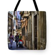 Lane In Palma De Majorca Spain Tote Bag
