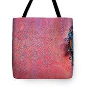Lantern And Adobe Wall Tote Bag