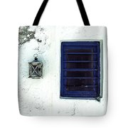 Lantern And Window Tote Bag