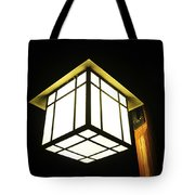 Lantern In The Night Tote Bag