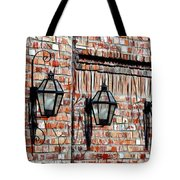Lanterns In The Courtyard Tote Bag