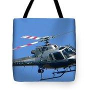 Lapd Aerial Chopper Tote Bag