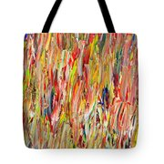 Large Acrylic Color Study 2012 Tote Bag