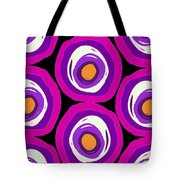 Large Scale Spots Tote Bag by Louisa Knight