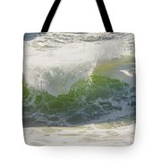 Large Waves On The Coast Of Maine Tote Bag