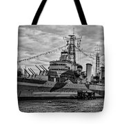 Largest In The Fleet Tote Bag