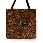 Largest Round Barn Ceiling Tote Bag