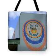 Larrys Music Boutique  Est 1952 Tote Bag