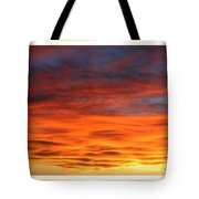 Las Cruces Sunset Tote Bag