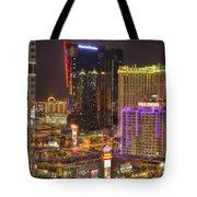 Las Vegas Nevada Tote Bag by Nicholas  Grunas