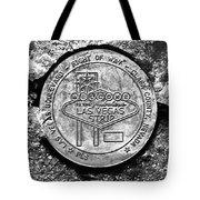 Las Vegas Strip Street Medallion Tote Bag