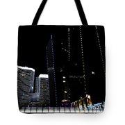 Las Vegas Walkway Tote Bag