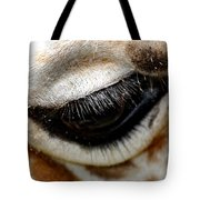 Lashes On The Eye Tote Bag