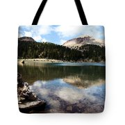 Lassen Mountain Lakes Tote Bag