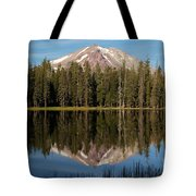 Lassen Peak Reflections Tote Bag