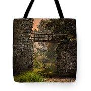 Last Bridge To Minas Tirith  Tote Bag