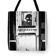 Last Cigarette Bw Palm Springs Tote Bag