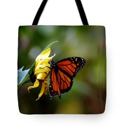 Last Kiss Of The Butterfly Tote Bag