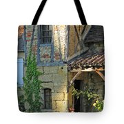 Last Light In Sarlat Tote Bag