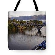Last Light On Caveman Bridge Tote Bag