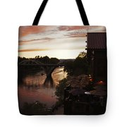 Last Light Over The Rogue Tote Bag