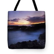 Last Light Over The South Shore Tote Bag