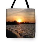 Last Rays Of Sun Tote Bag