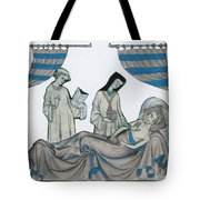 Last Rites, Middle Ages Tote Bag