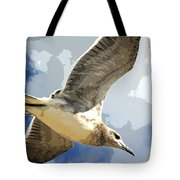 Last Winds Of Issac Posterized  Tote Bag