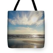 Late Afternoon On An Oregon Beach Tote Bag