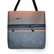 Late Comers Tote Bag
