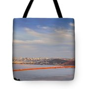Late Evening Over San Francisco Tote Bag