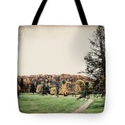 Late Fall In Waynesville Tote Bag