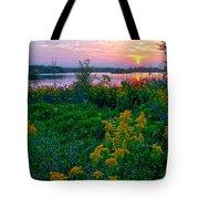 Late Summer Lake Tote Bag